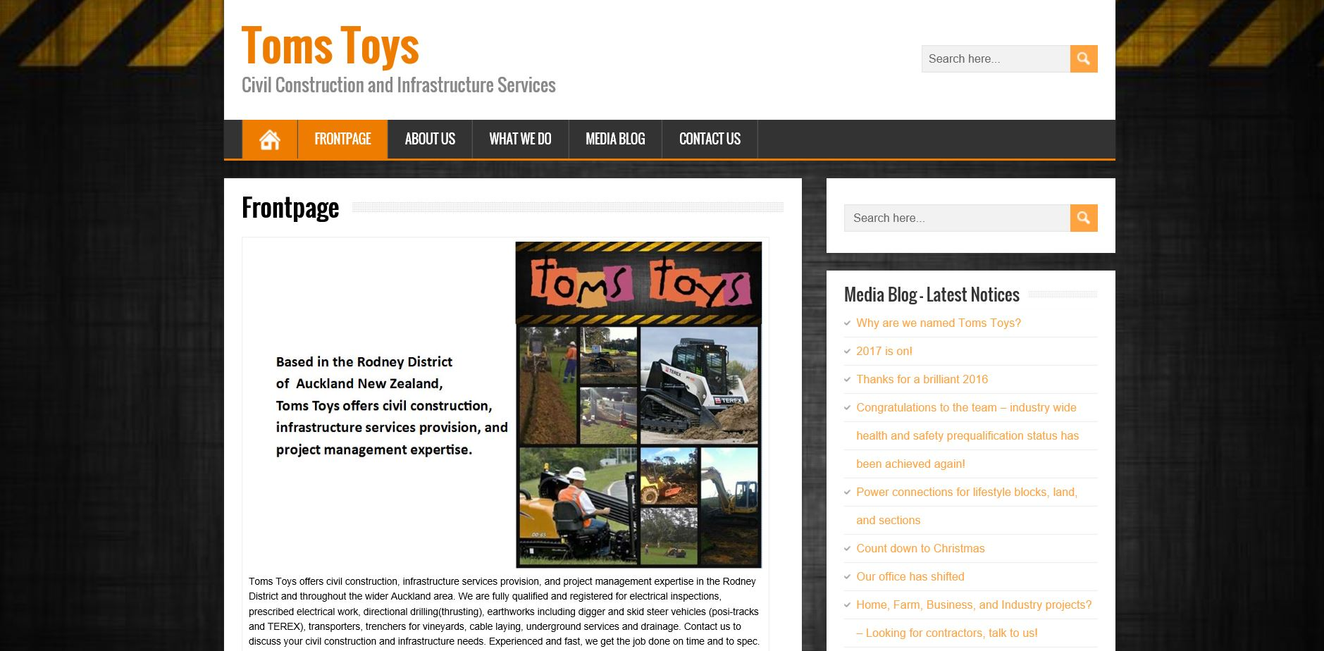The Business Concierge www.thebusinessconcierge.co.nz Toms Toys website